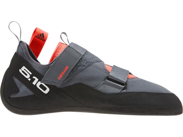 adidas Five Ten Kirigami Pies de Gato Hombre, onix/core black/solar red